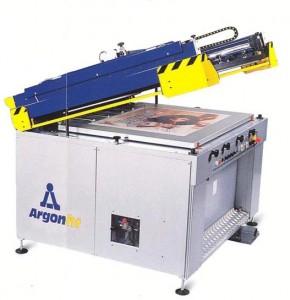 Полуавтоматический трафаретный печатный станок производства ARGON HT